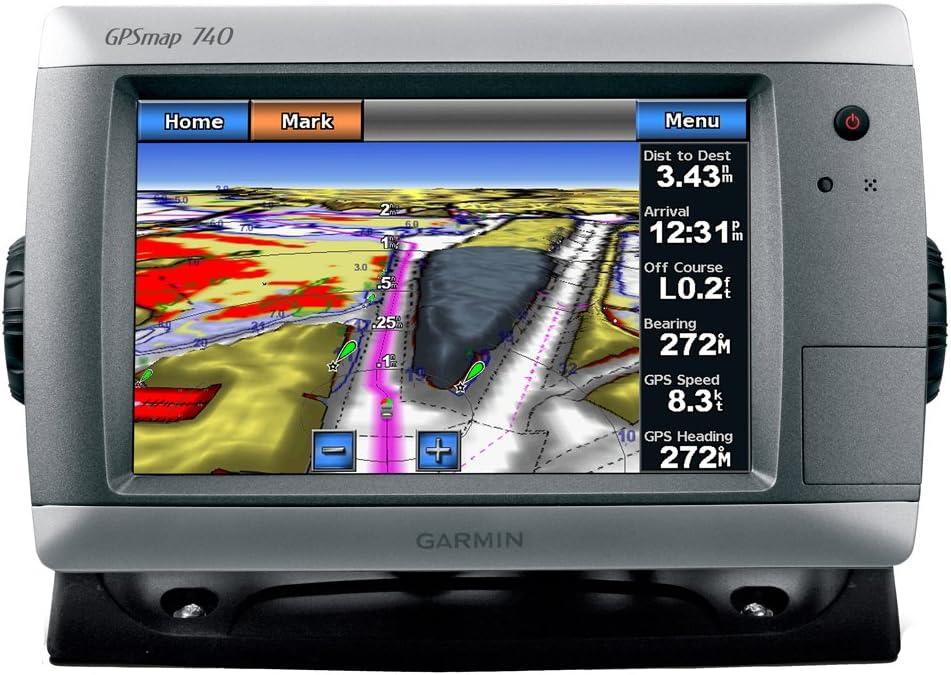 GARMIN GPSMAP 740 GPS CHART PLOTTER W/ COASTAL CHARTS: Amazon.es ...
