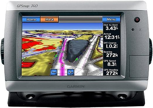 GARMIN GPSMAP 740 GPS CHART PLOTTER W/ COASTAL CHARTS: Amazon.es: Electrónica