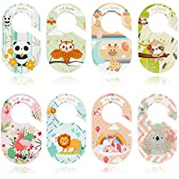 Set of 8 Double Side Baby Closet Size Dividers Special Closet Dividers Baby Closet Dividers for Baby Clothes Organizer…