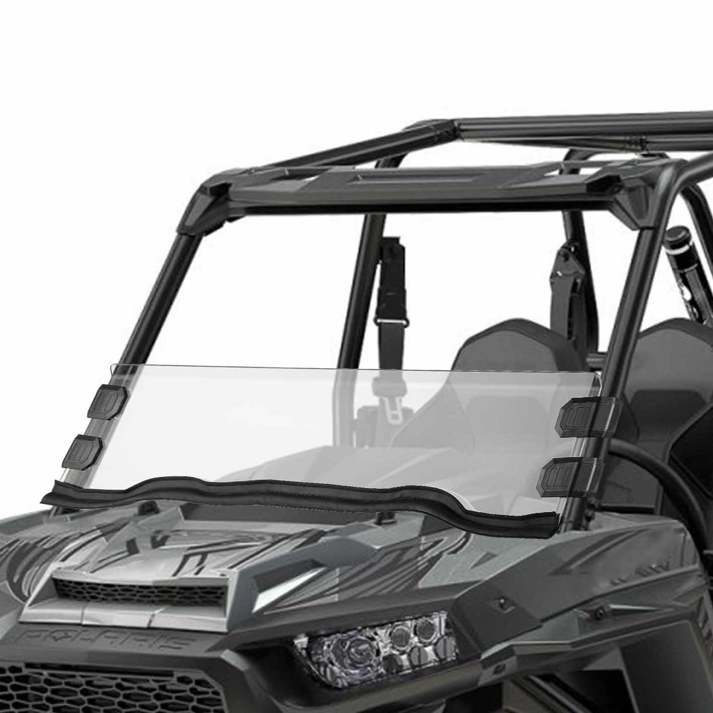 Polaris Razor UTV Half Windshield for 15-18 RZR 900, 15-18 RZR 4 900, 15-18 RZR S 900, 15-18 RZR XC 900, 14-18 RZR 1000, 16-18 RZR S 1000, 16-18 RZR XP Turbo, 14-18 RZR 4 1000