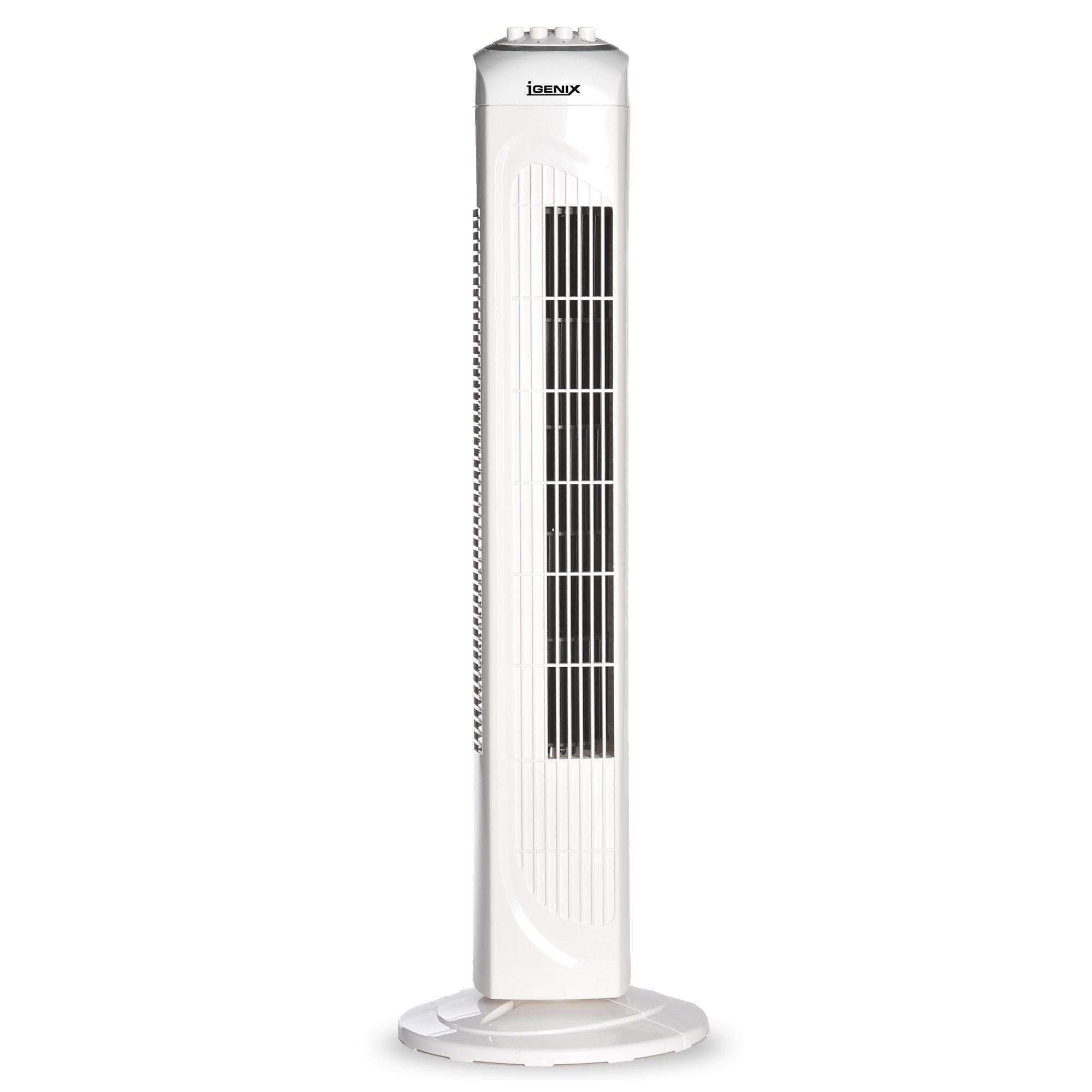 igenix df0030 oscillating tower fan with timer 30 inch. Black Bedroom Furniture Sets. Home Design Ideas