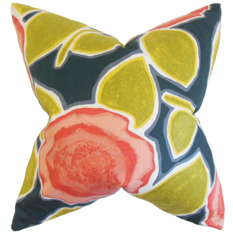 The Pillow Collection Carlin Geometric Bedding Sham Poppy Queen//20 x 30