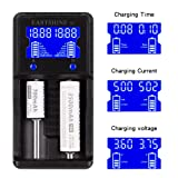 Universal Battery Charger EASTSHINE S2 LCD