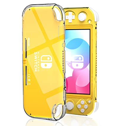 Protective Case for Nintendo Switch Lite, Hard Clear Case for Nintendo Switch Lite