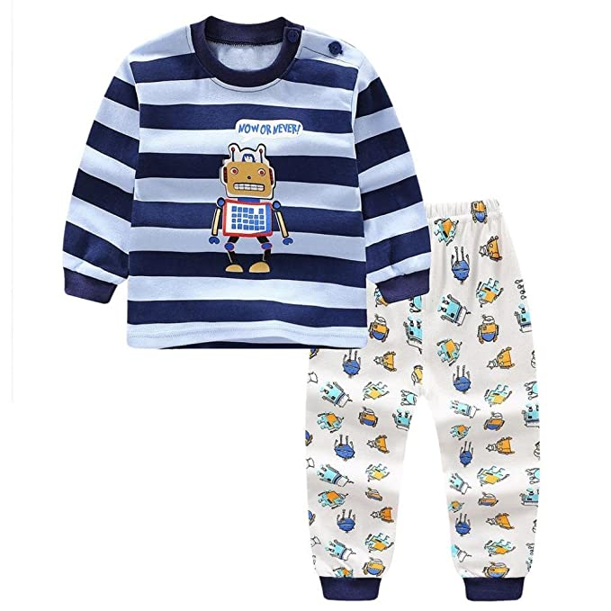 Cute Toddler Newborn Baby Boys Girls Cartoon Tops Shorts Outfits 2PCS Set 0-3T