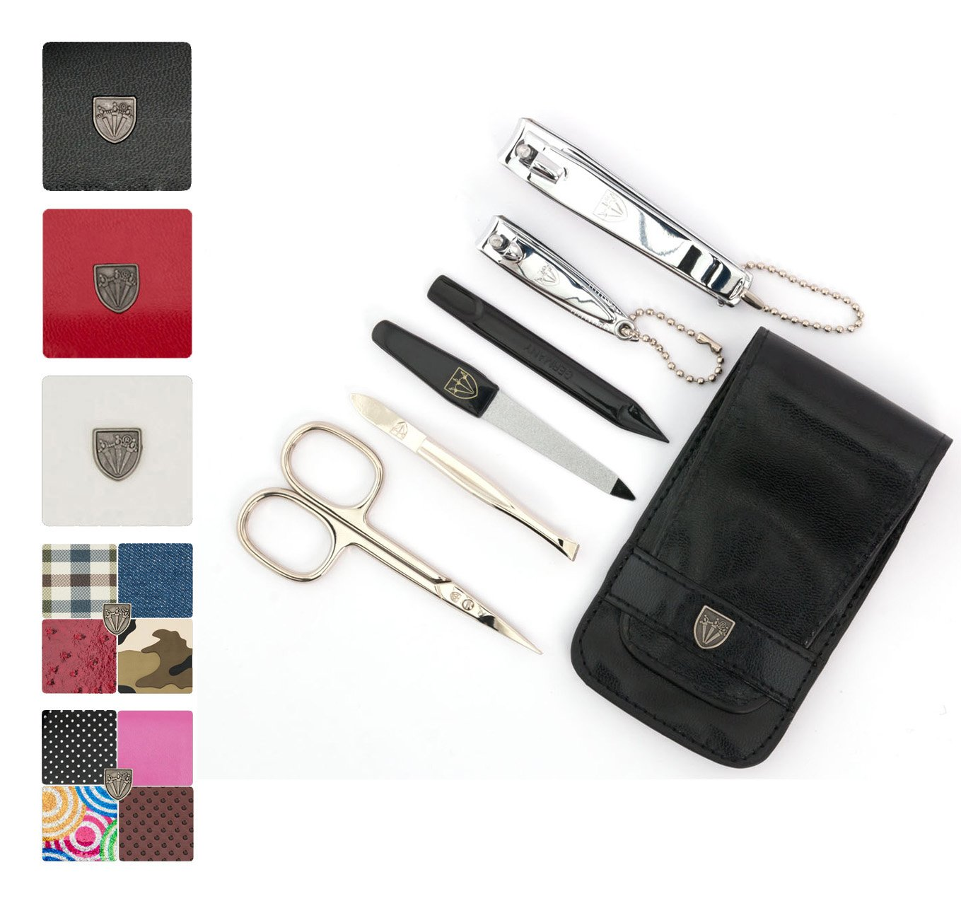 3 Swords Germany - kit set de manucure, pédicure, Ciseaux lime ongles - qualité 3 Swords (05267)
