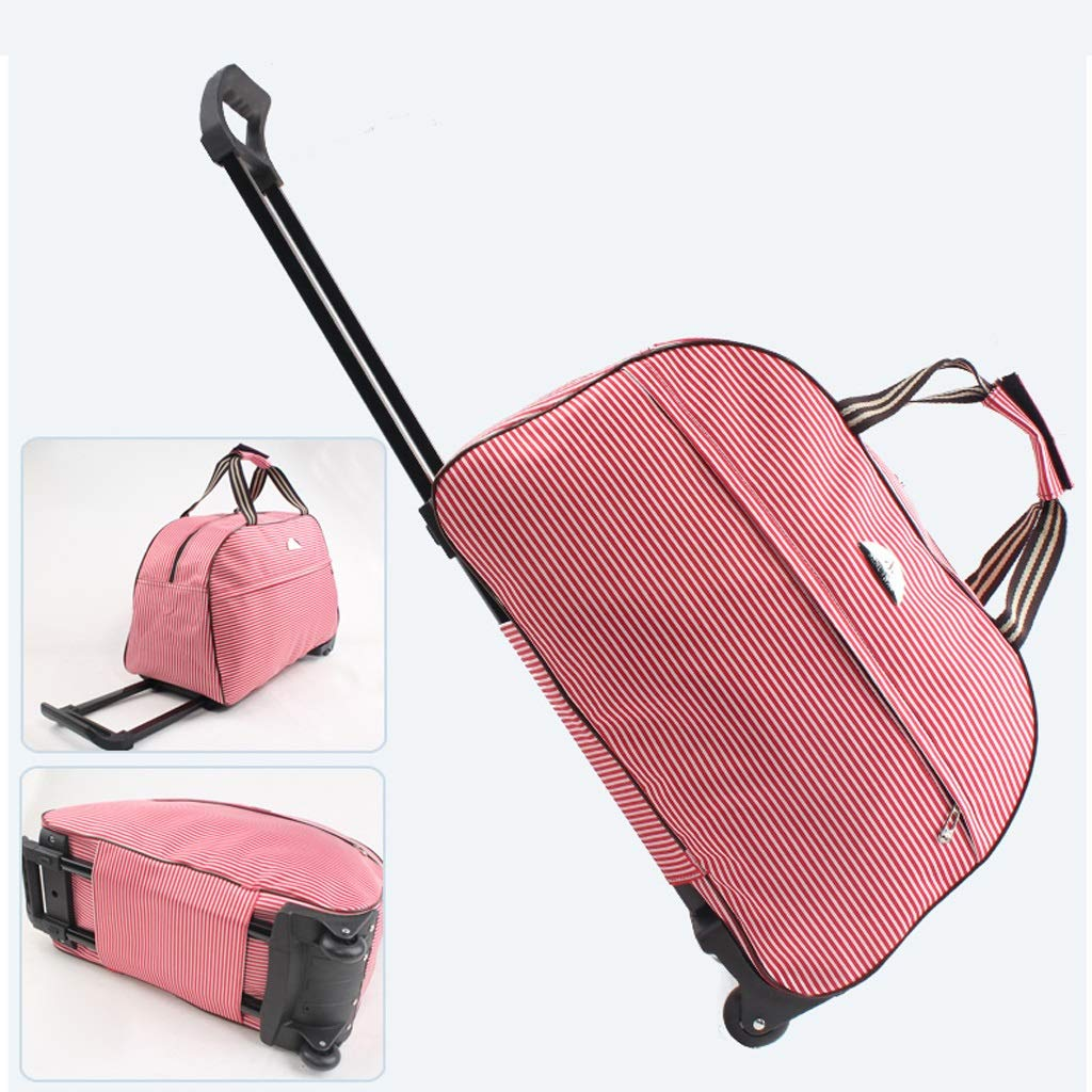 Travel Boarding Bag for Men and Women Color : 1 ZFF-lvxingbao Portable Travel Trolley Case Large Capacity Hand Baggage Bag-L592537CM