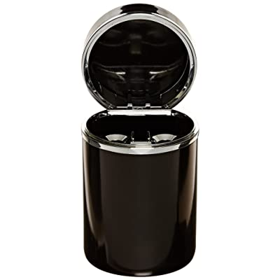 Bell Automotive 22-1-30230-8 Black/Chrome Aluminum Ashtray: Automotive