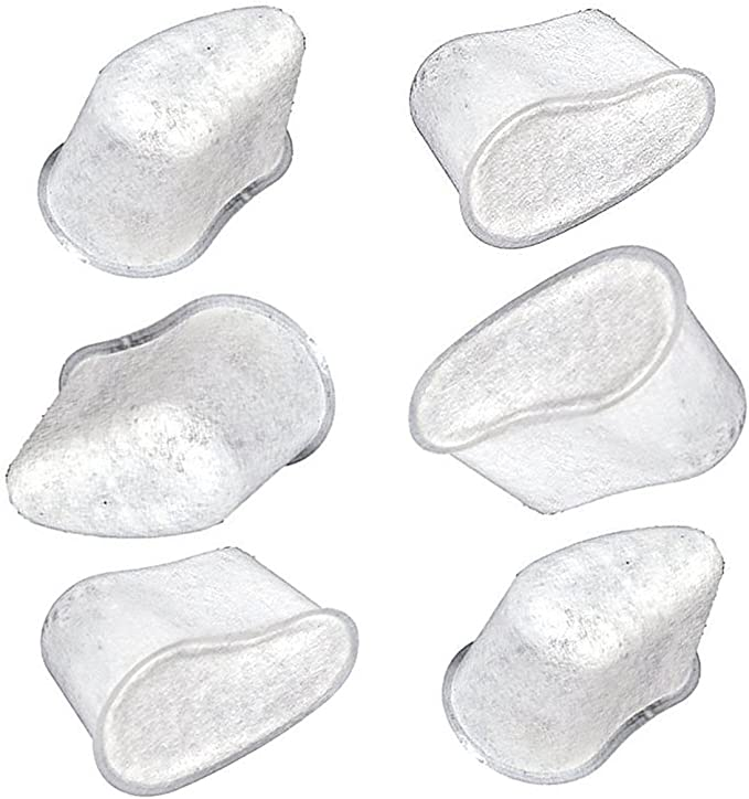 Set de 6 filtros de agua de carbón de repuesto para Krups – elimina cloro y mejora la sabores de café y té trabajo con modelos de Krups cafetera FMF, FME, 629,