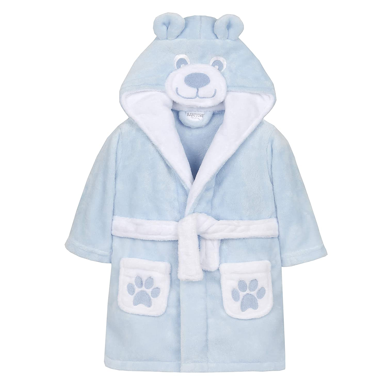 Babys Teddybä r Morgenmantel