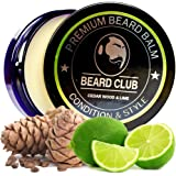 Premium Beard Balm | Cedar Wood and Lime | Natural and Organic | The Best Beard Conditioner and Softener for Hair Care and Growth | Shape and Style Your Beard, While Stopping Beard Itch and Flakes