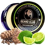 Premium Beard Balm | Cedar Wood & Lime | The Best Beard Conditioner & Softener to Shape & Style your Beard, While Stopping Beard Itch & Flakes | Natural & Organic | Great for Hair Care & Growth