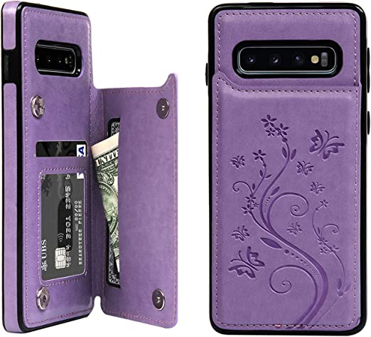 Felfy Kompatible mit Galaxy S10 H/ülle,Kompatible mit Galaxy S10 Case Silikon Schale Gemalt Muster Handyh/ülle Ultra D/ünn Weich Gel TPU Silikon Schutzh/ülle Kratzfest Handytasche Case Cover