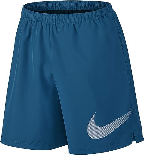 Nike Short Fast pour homme Bleu Medium: