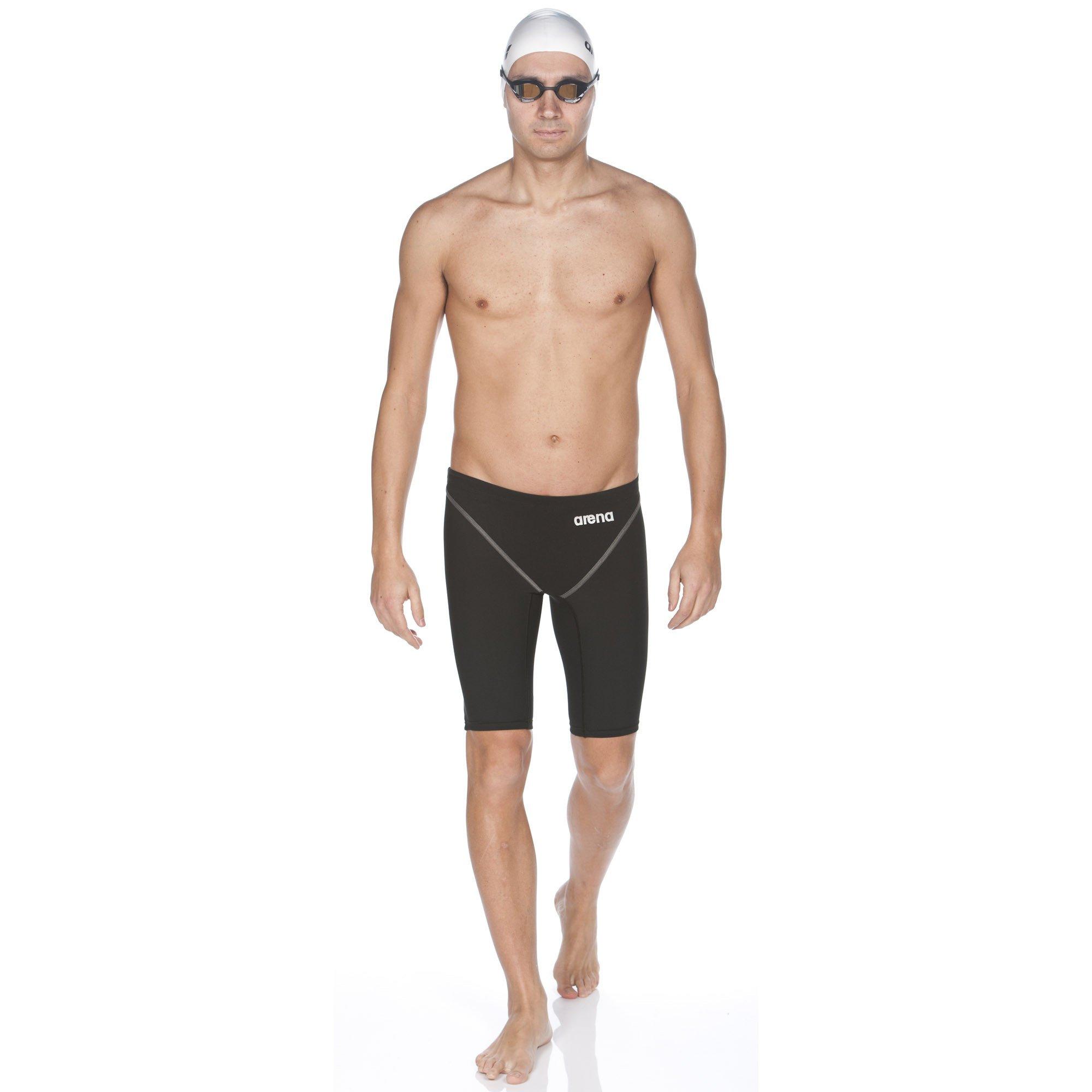 Arena Powerskin ST 2.0 Jammer Men's Racing Swimsuit, Black, 30