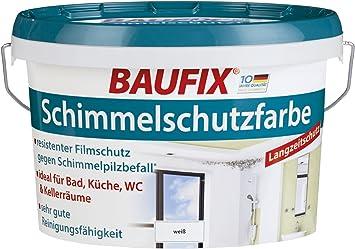Peinture Baufix Anti Moisissure Blanc Satiné 25 L