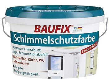 Baufix Mould Protection Paint White Satin Matt 25 Litres