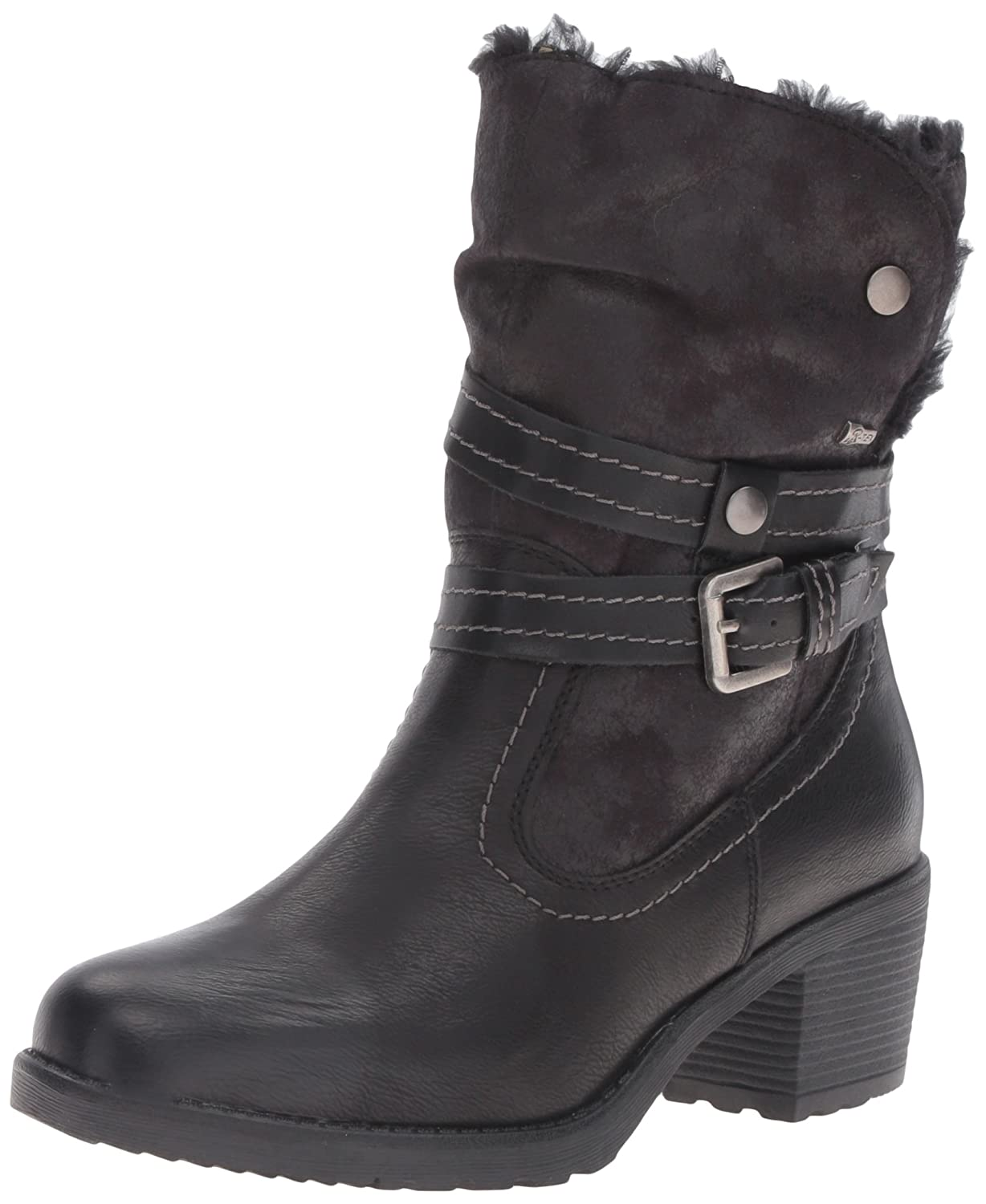 Spring Step Women's Boisa Winter Boot B01EIRFH44 36 EU/5.5-6 M US|Black