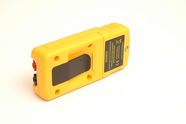 Martindale Tek404/testeur de continuit/é avec indication de LED haute intensit/é Buzzer et 600/V Cat III