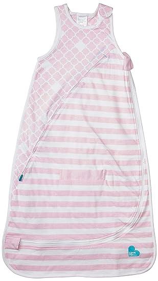 Love to Dream Inventa Sleep Bag-1.0 Tog Light Pink 12-36 Months