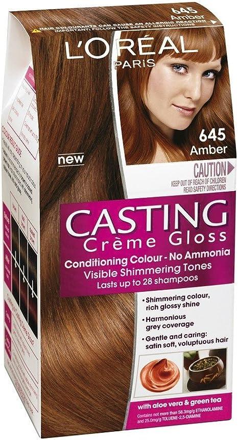 Tinte Ambar 645 Casting Creme Gloss LOreal: Amazon.es ...