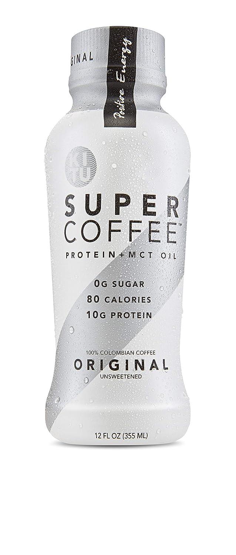 Kitu by Sunniva Super Coffee 4 Variety Pack Sugar-Free Formula, 10g Protein, Lactose Free, Soy Free, Gluten Free (1 each of Vanilla Bean, Mocha, Hazelnut, and Creamy Black)