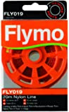 Flymo FLY019 20 m Nylon Trimmer Line for Some Flymo Grass Trimmers and Lawn Edgers - Red