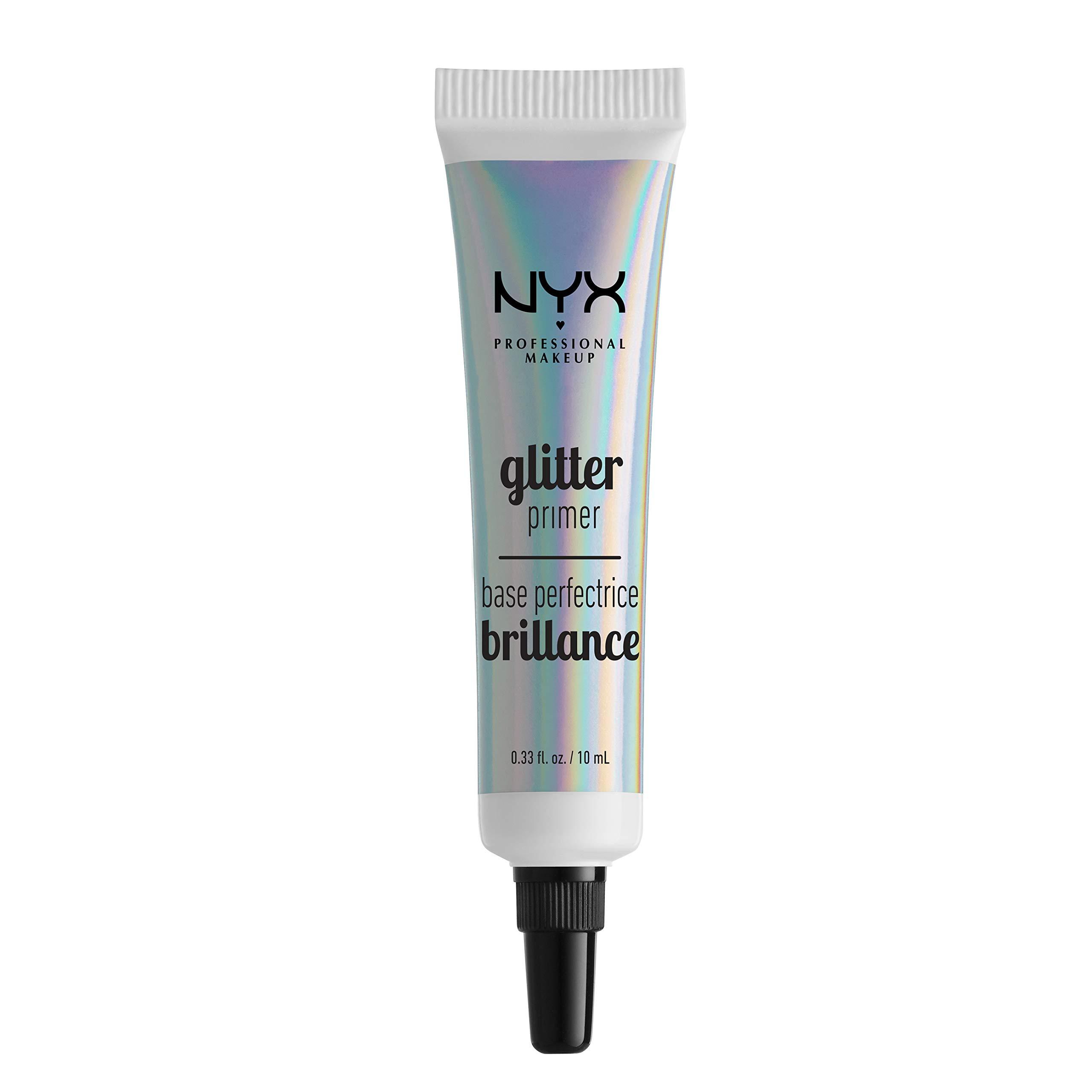 NYX Professional Makeup Glitter Primer Face Makeup, 0.33 Ounce