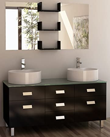 Wonderful Natural Stone Bathroom Tiles Uk Big Majestic Kitchen And Bath Nj Reviews Square Glass For Bathtub Shower Bathroom Wall Panelling Young Install A Bathroom Fan Without Attic Access RedSmall Bathroom Door Design Element Wellington Double Sink Vanity Set, 55 Inch   Vanity ..