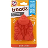 Arm & Hammer for Pets Super Treadz Dental Chew Toy for Dogs - Dog Dental Chew Toys Reduce Plaque & Tartar - Dog Chew Toys fro