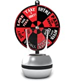 Barbuzzo Wheel of Shots - The Perfect Party Drinking Game - Pour a Shot, Spin the Wheel, & Take Your Chances - Great Gift for Home Entertaining, Kickbacks, Parties, Tailgates, & Celebrations