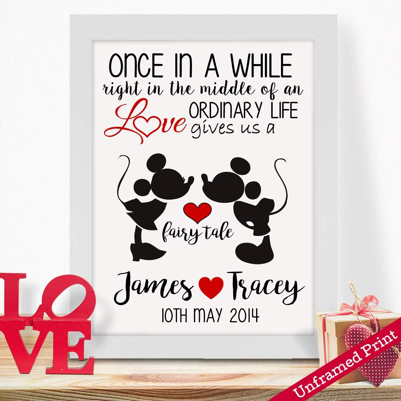 Personalised Gifts For Husband Wife Him Her Girlfriends Boyfriends