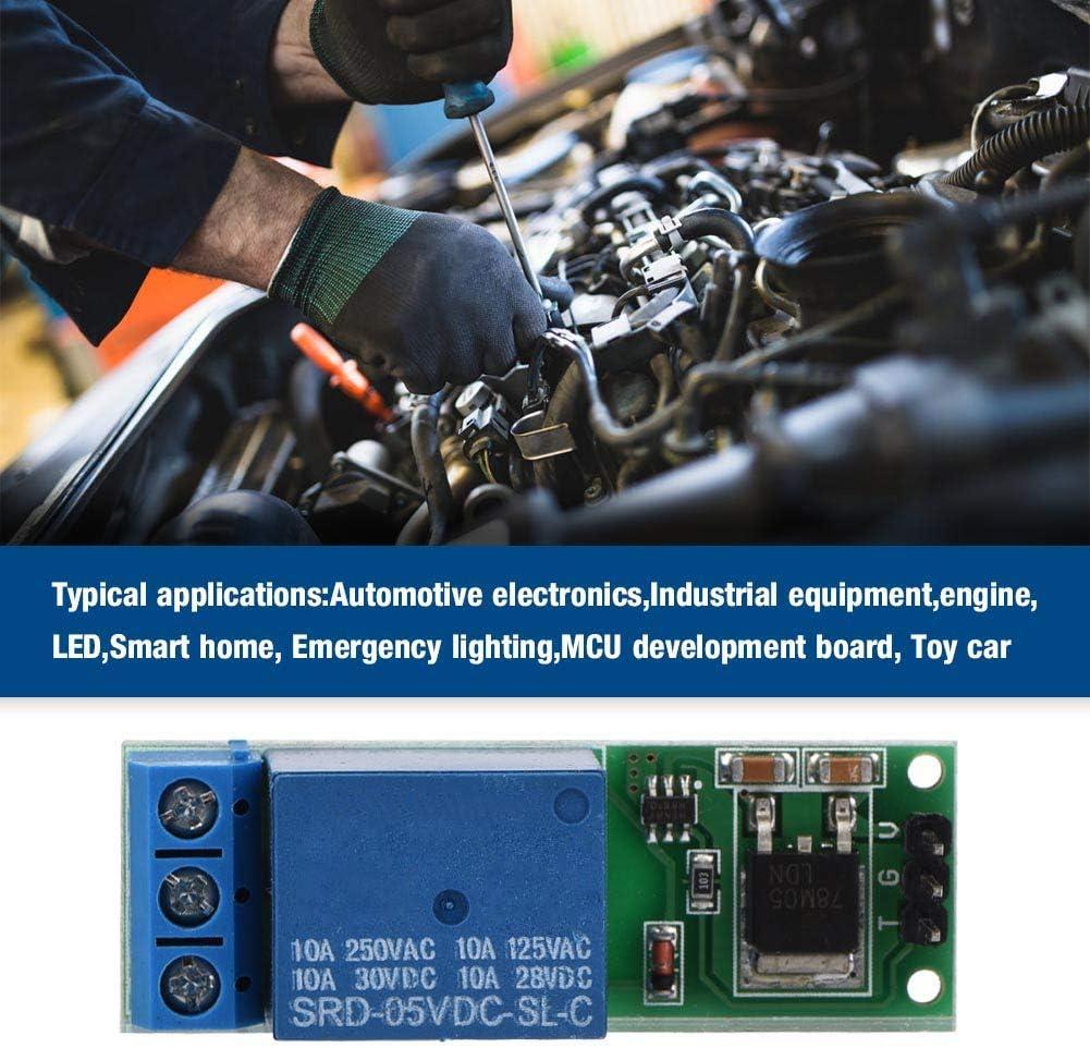 modulo rel/è bistabile a scatto mini 6-24 V Interruttore autobloccante bistabile per rel/è di ritardo attivazione controllo apparecchiature meccaniche elettroniche Scheda trigger a basso impulso