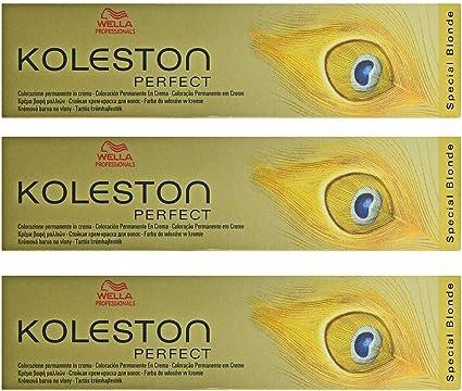 Tinte Wella Koleston Perfect 12/7 Special Blond Braun para el cabello, 3 unidades, 60 ml