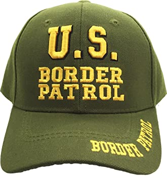 Amazon.com  Green US Border Patrol Embroidered Hat USA Ball Cap ... a34b5073f145