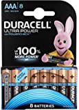 Duracell Ultra Power Piles Alcalines type AAA, Lot de 8