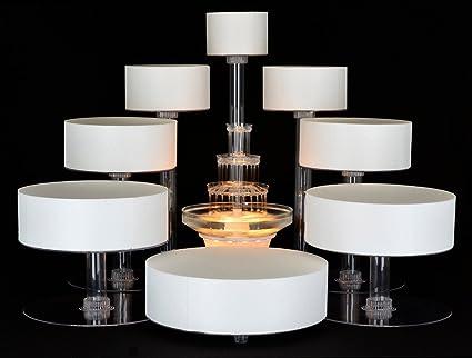 Amazon.com: 8 Tier Cascade Wedding Cake Stand (STYLE R800): Home ...