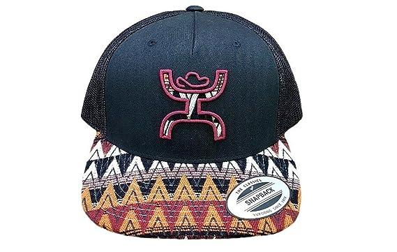 aef55e19452 get hooey womens trucker serape stripe print cap gray 23b68 5656c  closeout hooey  hat pyramid trucker hat aztec black 67d96 b39db