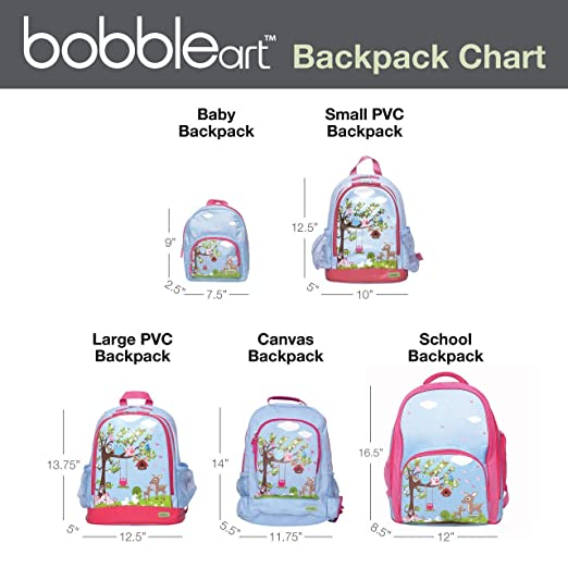 161b63fb8e Amazon.com  BobbleArt Small Toddler Backpack- Traffic  Toys   Games