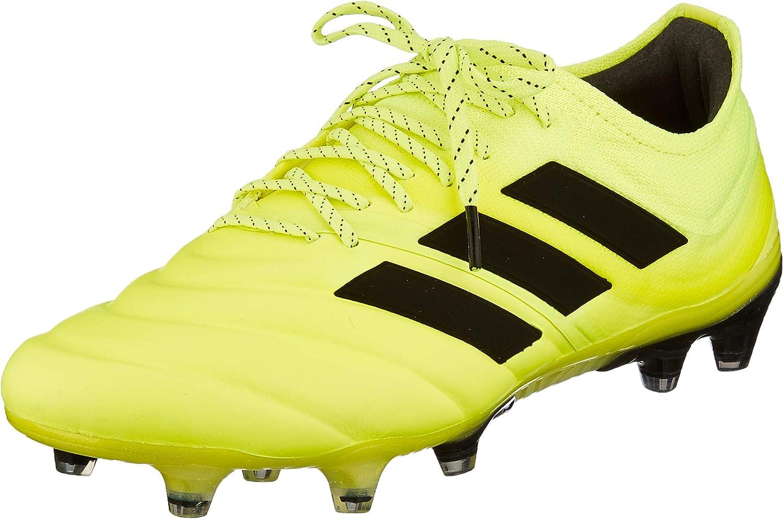 adidas Copa 19.1 FG, Chaussures de Football Homme Jaune (Solar Yellow/Core Black/Solar Yellow 0)