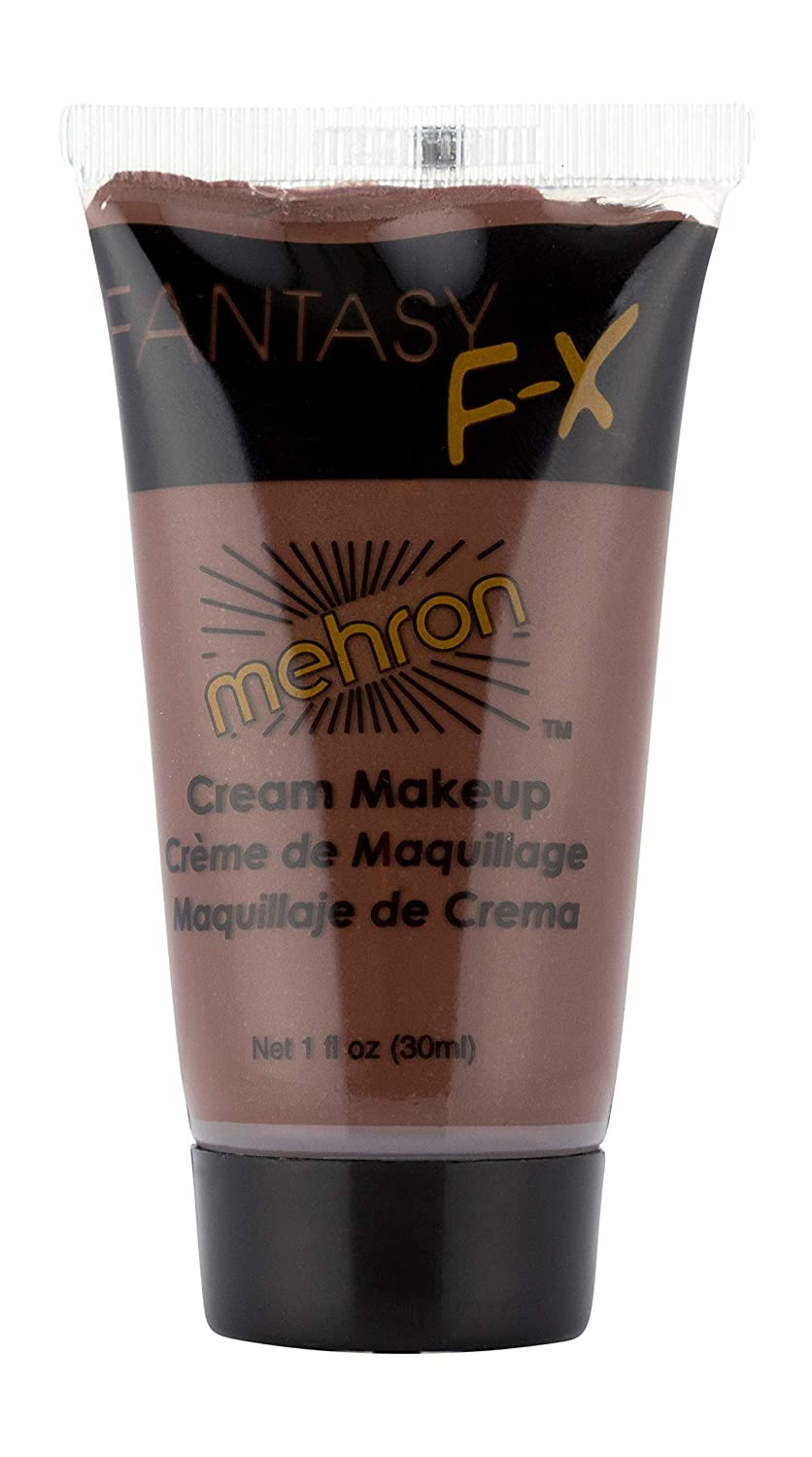 Mehron Makeup Fantasy F/X Water Based Face & Body Paint (1 oz) (WOLFMAN BROWN)