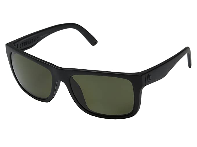 6d791956e5b Image Unavailable. Image not available for. Color  Electric Swingarm S  Sunglasses Matte Black With OHM Grey Polarized Lens