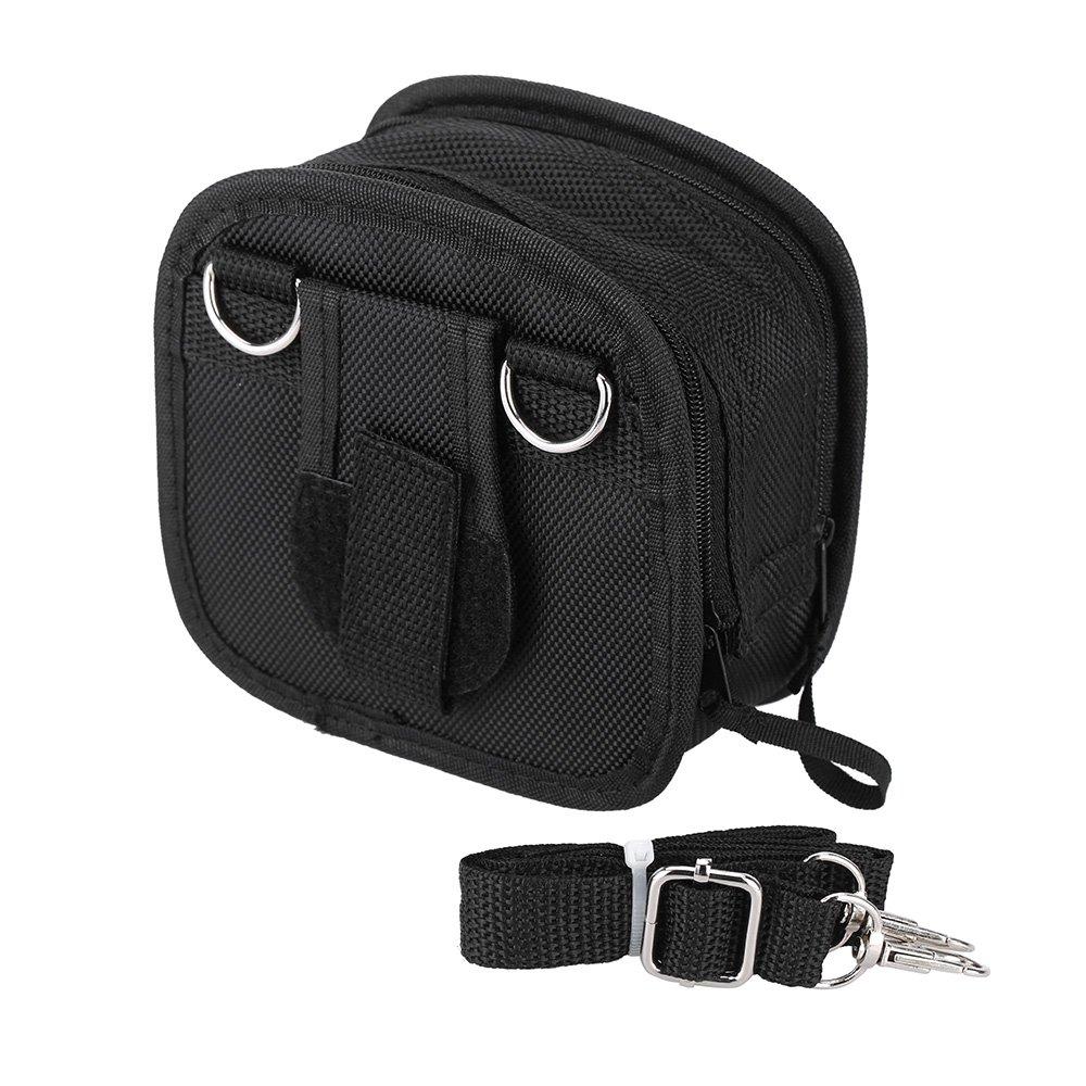 Andoer 9in1 Filter Lens Wallet Case Bag for 25mm-95mm UV CPL Camera Lens