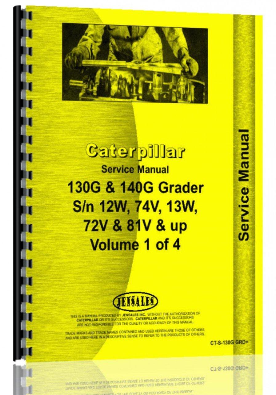 Download Caterpillar 140G Grader Service Manual pdf