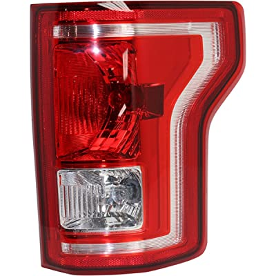 New Right Passenger Side Tail Light Assembly For 2015-2020 Ford F-150 Bulb Type Without Led [Fo] FO2801239: Automotive