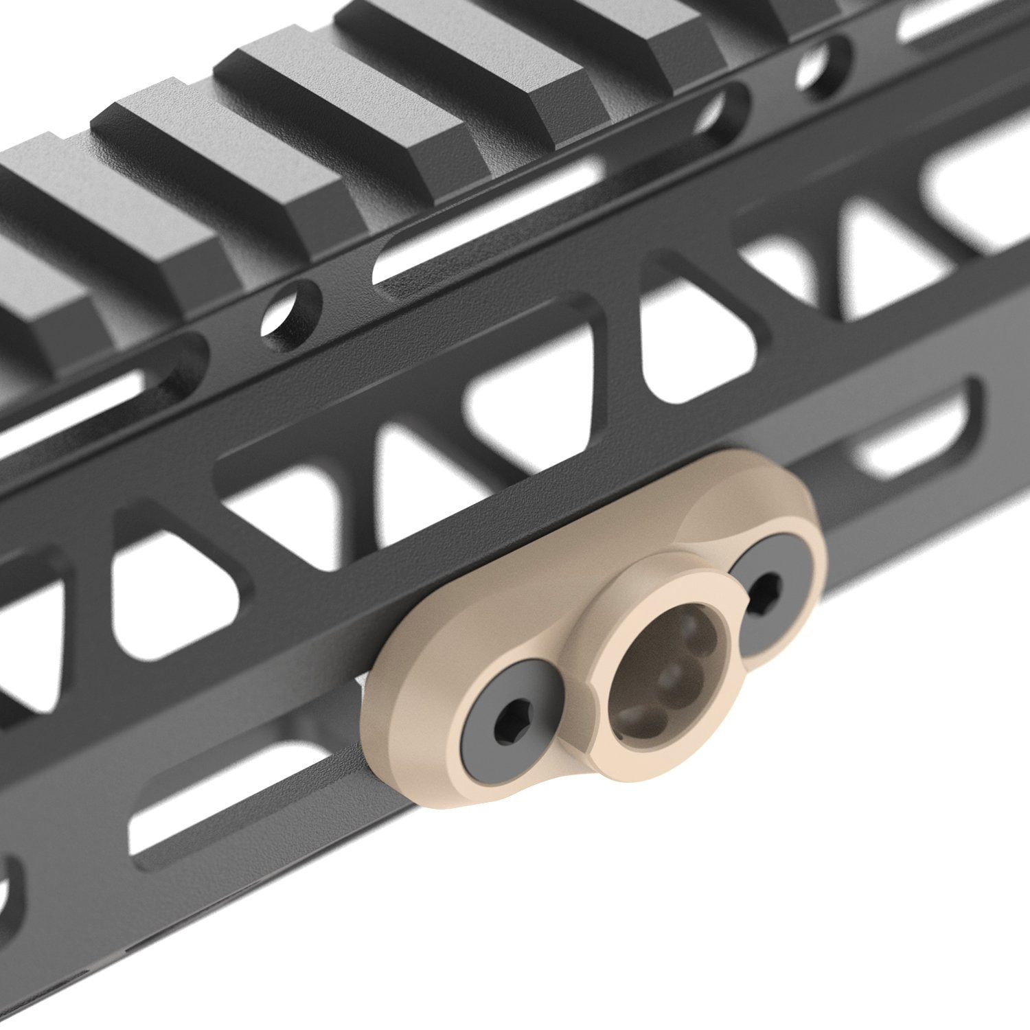 //Keymod Standard QD Sling Swivel Adaptor Rail Mount QD Swivel is Included R Tough Tactical Tools M-LOK