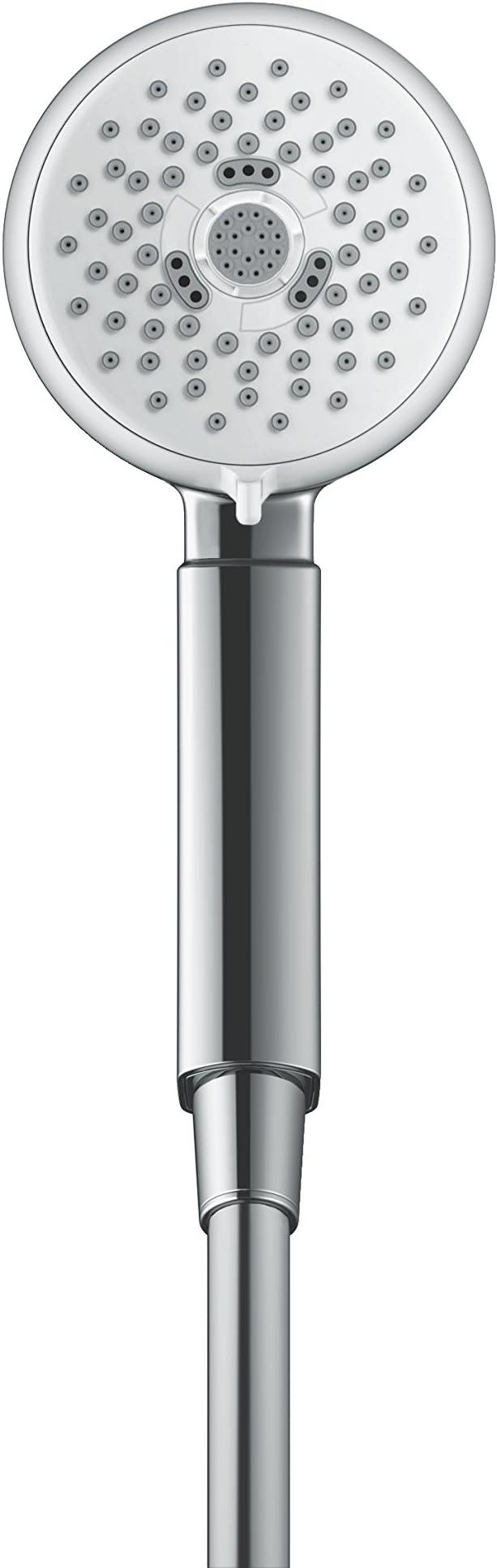 Hansgrohe Crometta 100 Multi Handbrause m 3 Strahlarten weiß//chrom 26823400