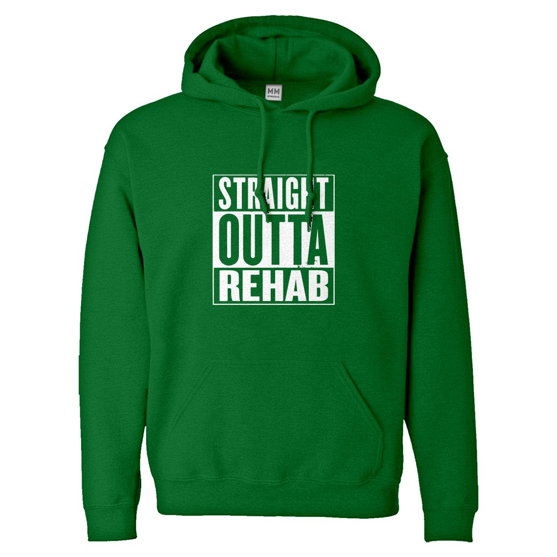 Indica Plateau Straight Outta Rehab Adult Hoodie 3094-H