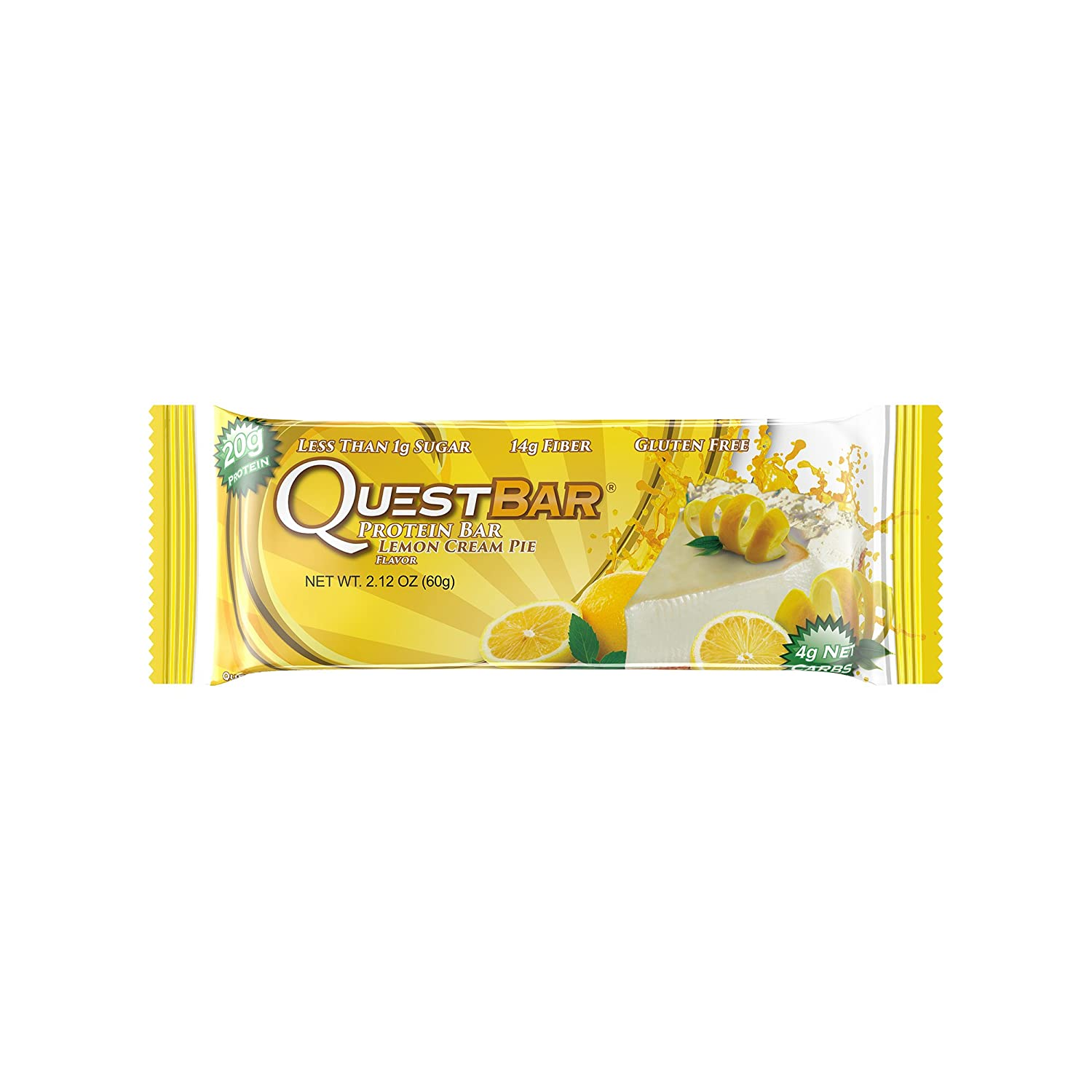 Quest Nutrition Quest Bar Protein - 12 x 60 gr Cookies and Cream: Amazon.es: Alimentación y bebidas