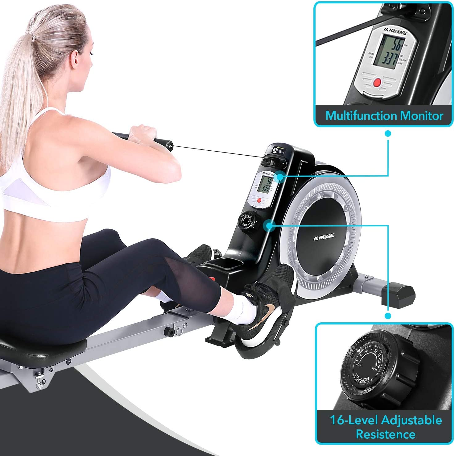 Maxkare rowing machine
